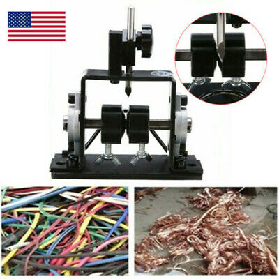 Manual Wire Stripping Machine Cable Stripper Tool Scrap Metal Recycle 1-20mm