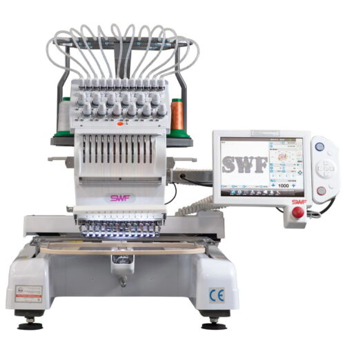 SWF MAS 12 Needle Commercial Embroidery Machine New