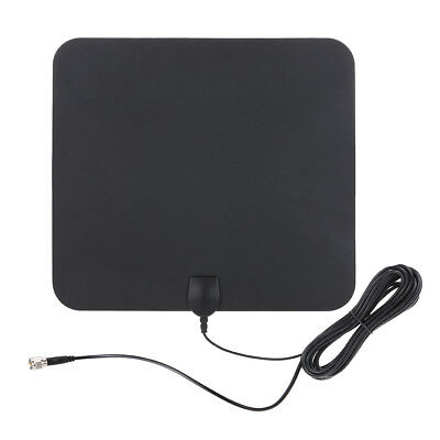 Digital Indoor TV Antenna High Gain W / 5M Coax Cable Better Reception HDTV (Best Digital Cable Antenna)
