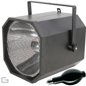 QTX UV CANNON 400W ULTRAVIOLET LAMPHOLDER BLACK LIGHT & E40 BULB PACKAGE