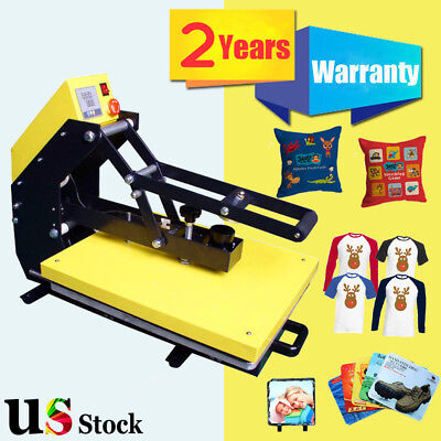 Usa Stock - 16 X 20 Auto Open T-shirt Heat Press Machine With Slide Out Style
