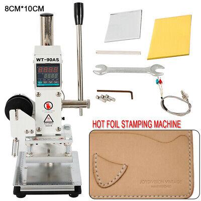 Pro Digital Hot Foil Stamping Machine Tipper Stamper For Foil Logo Embossing Pvc