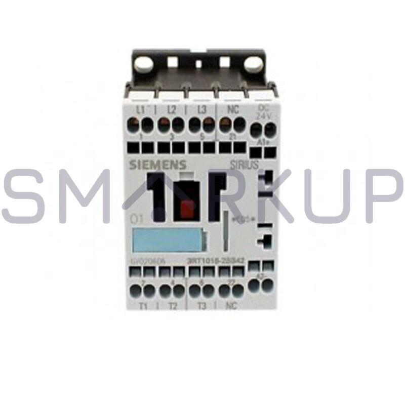 NIB SIEMENS 3RT1016-2BB42 3-Pole Contactor S00 Coil