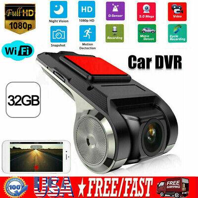1080P Car Dash Cam Wifi GPS Hidden Camera DVR Video Recorder Night Vision ADAS