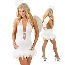 Sexy Angel Dress Costume Size Medium 8-10 Brand New Madora Bay Mandurah Area Preview