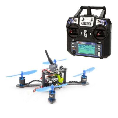 DIY FPV Brushless Racer Drone Bat-100 RTF Carbon Fiber w/ Flysky FSI6