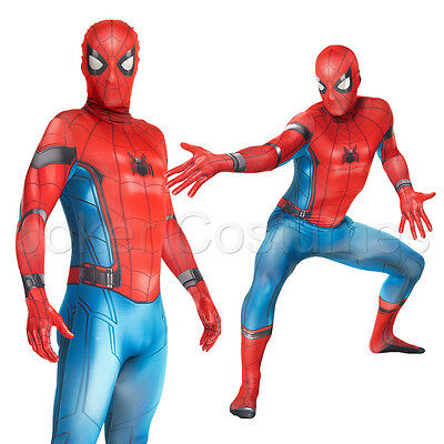 Superhero Morphsuit (Amazing Spiderman Homecoming Costume Morphsuit Superhero Halloween Fancy)
