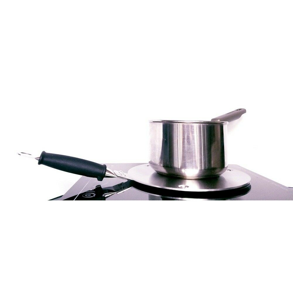 """Induction Cooktop Aluminum 9"""" Converter Disc Plate Stainless"""