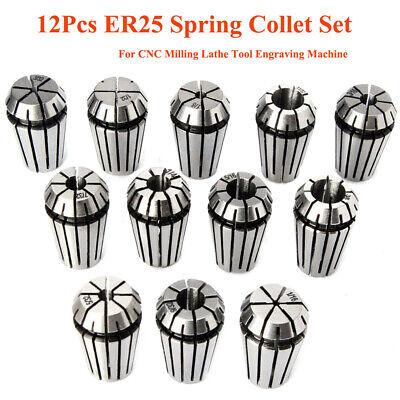 Er11er16er20er25er32 Spring Collet Set Cnc Milling Boring Machine Lathe-tool