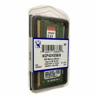 RAM KINGSTON 8GB DDR4 KCP424SS8/8 BRAND NEW SEALED