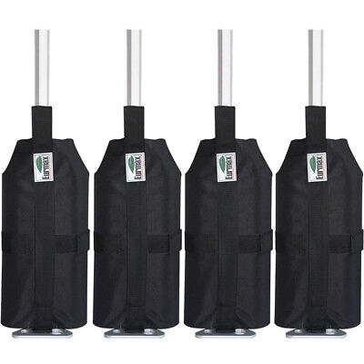4pcs Leg Sand Weight Bags For Ez Pop Up Canopy Patio Gazebo Outdoor Instant Tent