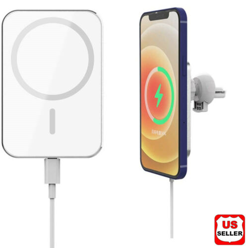 Magnetic Car Mount Wireless Charger For Mag Safe for iPhone 12 mini 12 Pro Max Cell Phone Accessories