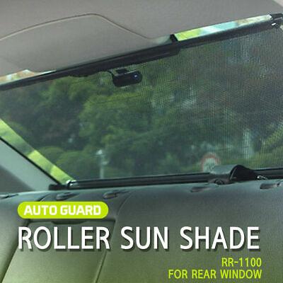 Retractable Sun Shade Visor Rear Window Roller Blind for sedan all car