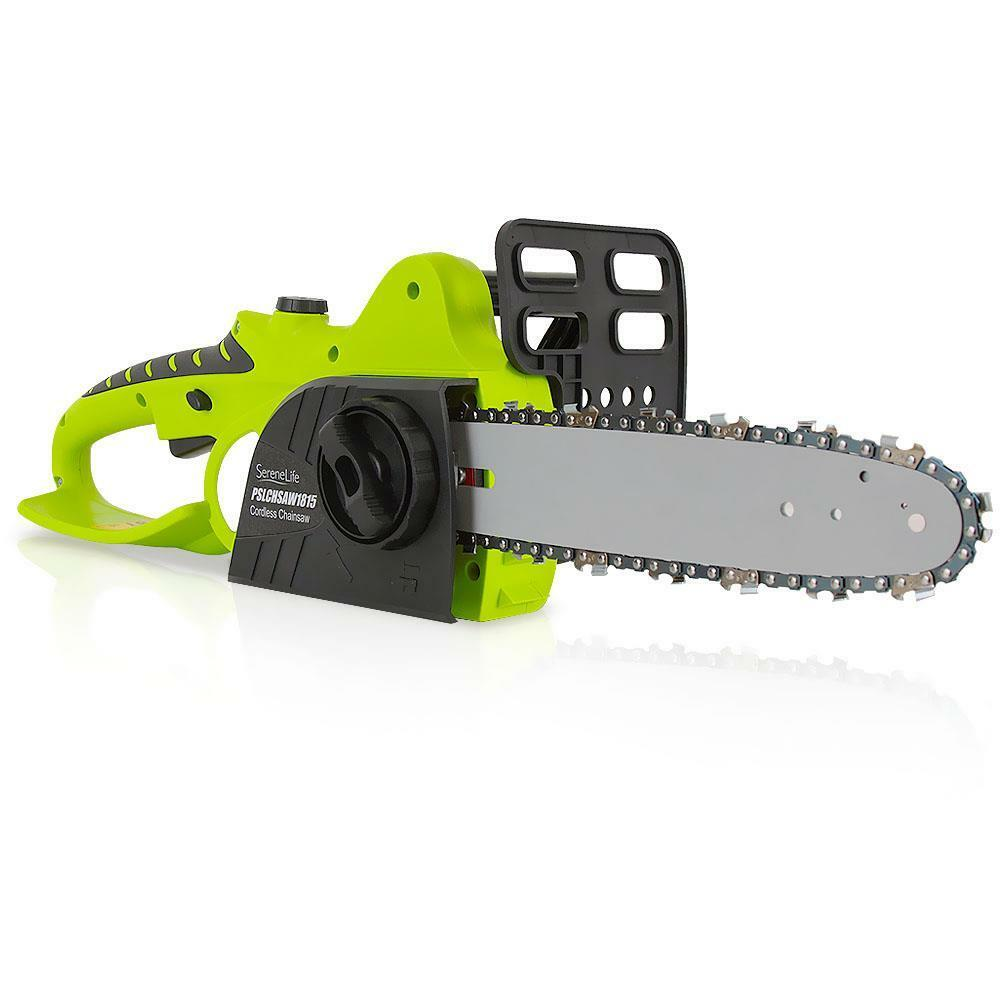 18V ELECTRIC CORDLESS CHAINSAW HOME GARDEN CHAIN SAW CUTTER