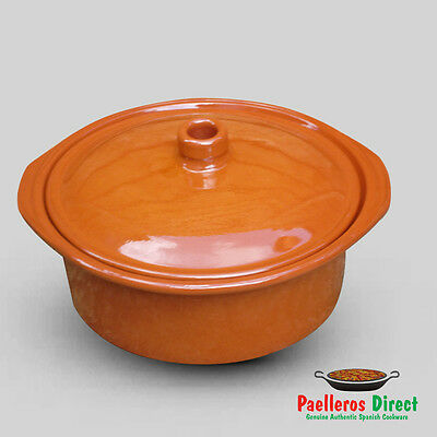 Spanish Terracotta Casserole Dish - 3.5 Litre