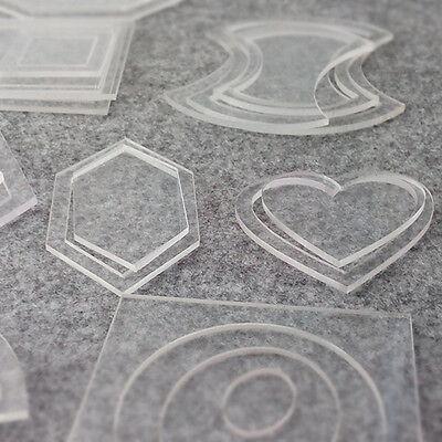 Creative Quilting Template Ruler DIY Patchwork  Tool  Craft Acrylic Quilt X54pcs