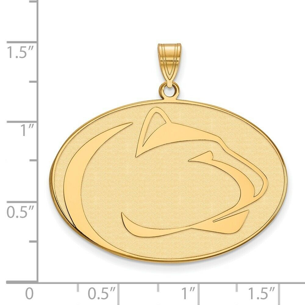 925 Sterling Silver Officially Licensed Florida State University College Small Pendant 14 mm x 22 mm