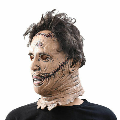 Leatherface Maske Latex 3D The Texas Chainsaw Massacre Karneval Halloween ()