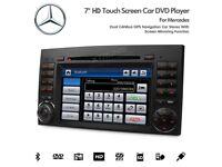 Mercedes Benz A B Class Sprinter Vito Viano Car Audio DVD USB SD Stereo Navigation Bluetooth Radio