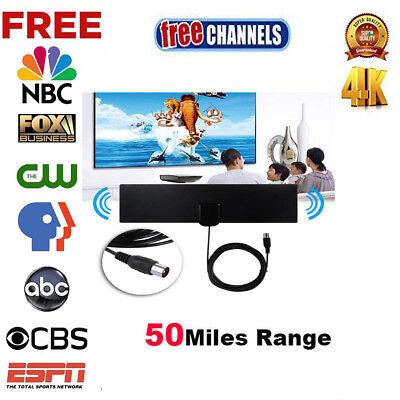 Super Antenna Tvfox Hd High Definition Free Tv Fox Hdtv Uhf Vhf 50 Miles Indoor