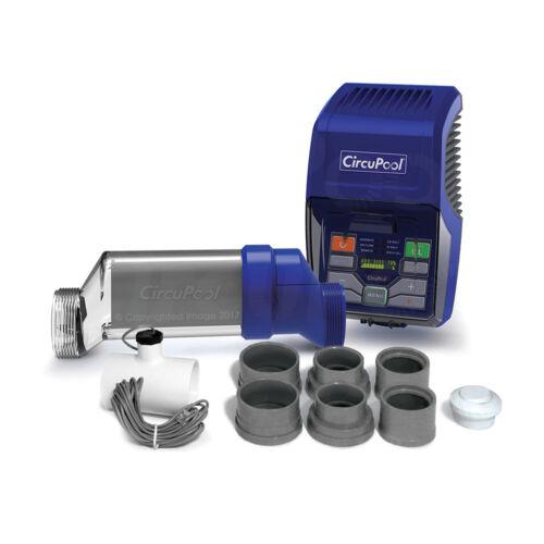 CircuPool RJ45+Plus Salt Water Chlorinator System for All Pools, 45k gal max