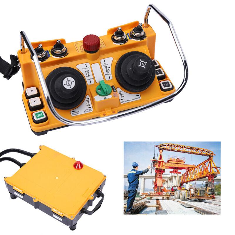Wireless Industria Radio Remote Control Transmitter+ Receiver Hoist Crane IP65