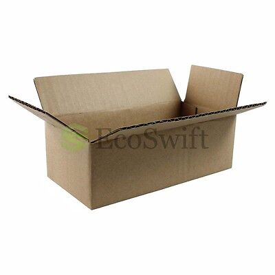 25 12x6x4 Cardboard Packing Mailing Moving Shipping Boxes Corrugated Box Cartons