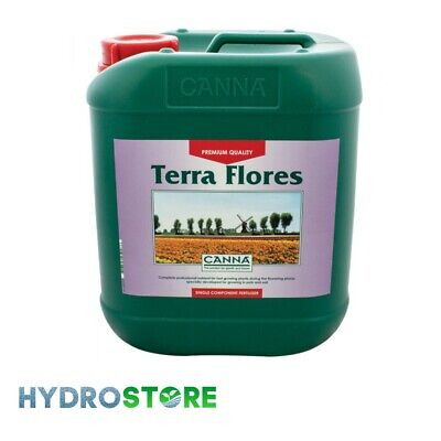 Canna Terra Flores - 10 Litres. Plant nutrient. hydroponics.