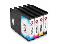 Ink Cartridges Replacement for Epson T7551 T7552 T7553 T7554