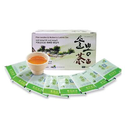 [Uljin Farm] Pine Needles & Mulberry Leaves Tea 0.04oz 1g 25 Tea Bags  K-Food