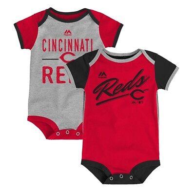 Cincinnati Reds MLB Majestic Newborn