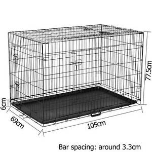 Foldable Pet Crate 42Inch Brisbane City Brisbane North West Preview