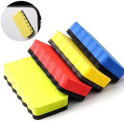 2pcs Magnetic Whiteboard Eraser Blackboard Cleaner Dry Marker Pen Rubber Tools