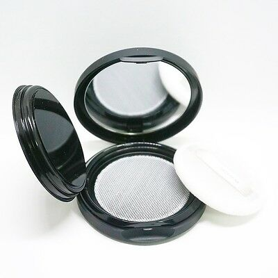 Aritaum Loose Face Powder Empty Case Mirror Puff Portable