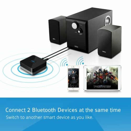 MPOW Wireless Bluetooth Receiver for Home Music Speaker Car