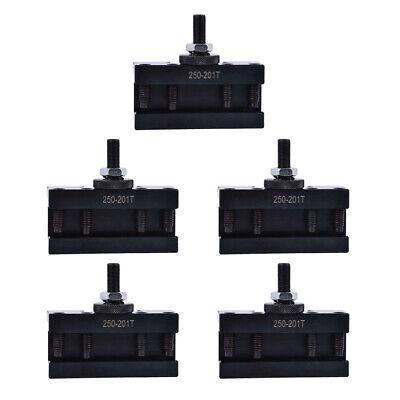 5pcs Bxa 250-201xl Oversize 34 Turning Tool Holder Quick Change 10-15 Lathe