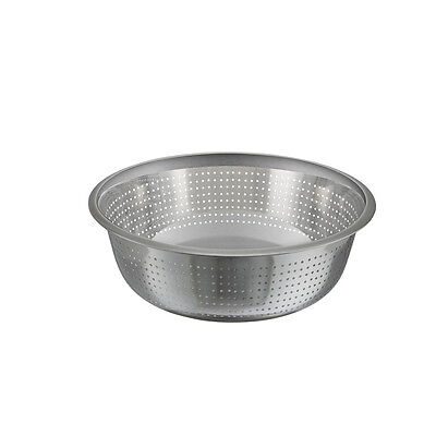 Winco Ccod-15s 15-inch Diameter Stainless Steel Chinese Colander With 2.5 Mm Ho