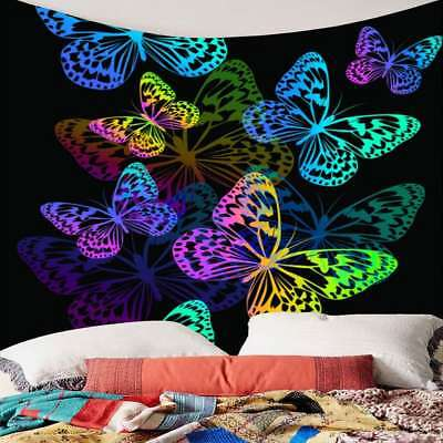 Butterfly Tapestry Wall Hanging - Art Colorful Butterfly Tapestry Wall Hanging Decorative Tapestry Home Bedspread