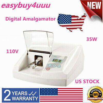 Dental Digital Amalgamator Amalgam Capsule Mixer High Speed Lab Safety Devices