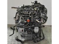 VW Passat B7 2.0 TDI Diesel 103kw 2012 BARE ENGINE CFF