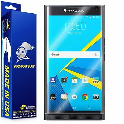 ArmorSuit Militaryshield - Blackberry Priv Receptacle Friendly Screen Protector