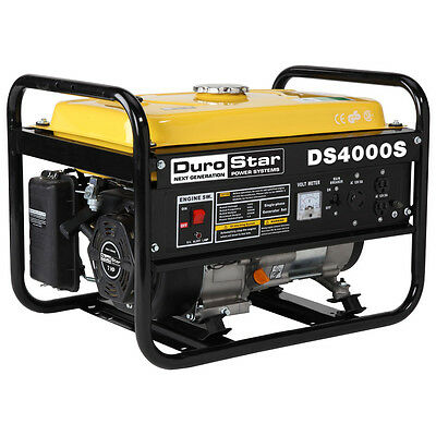DuroStar DS4000S Gas Powered 4000 Watt Portable ...
