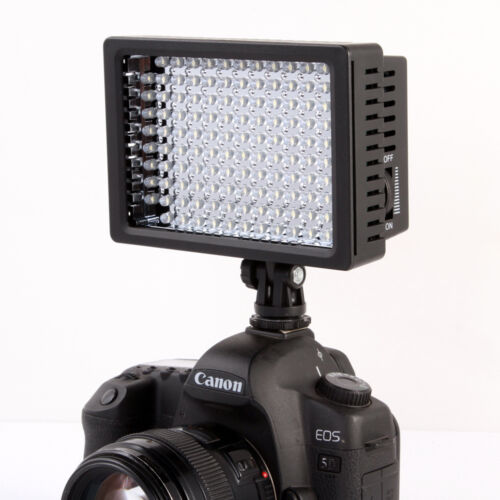Ledgo 126 Led Microphone Mounted Ring Light For Dslr Video: LD-126 LED Video Light Lamp For DSLR SLR Camera DV
