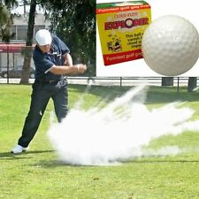 EXPLODING GOLF BALL ~ Smoke Dust Cloud Gag Joke Prank  + 1 Bonus Million Bill