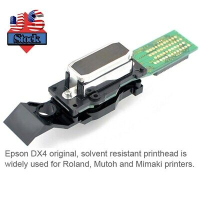 Usa-epson Eco Solvent Printhead Dx4 For Roland Mimaki Mutoh Dx4 Print Head