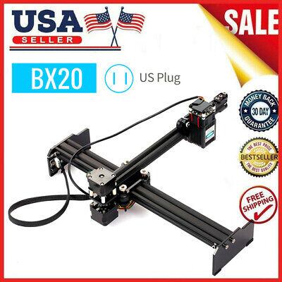 Bx20 20w La-ser Engraving Cutter Machine Engraver Printer Art Craft Diy Us H3q3
