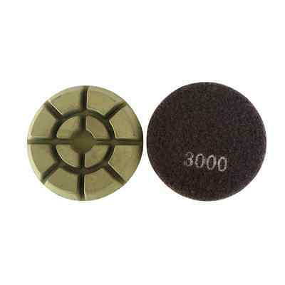 3 Dry Diamond Resin Bond Polishing Pads For Concrete Floor 30003pcs