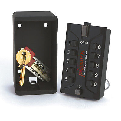 Lock Phoenix Safe - Phoenix Safe Weatherproof Key Safe with Combination Lock KS0002C LARGE CAPACITY