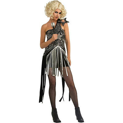 LADY GAGA Adult Costume Womens White 2009 VMA Outfit