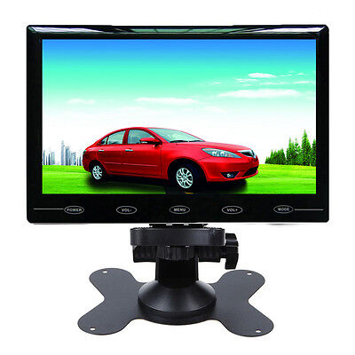 """7"""" Ultra Thin HD 800*480 TFT LCD Color 2-CH Input Car Rear View Headrest Monitor"""